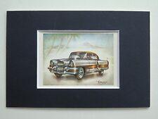 1955 Packard Request Coupe - Mounted Colour Vintage Car Automobile Print