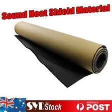 10m2 Roll Automotive Foam Insulation Shield Sound Deadener Noise Proof Adhesive