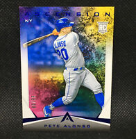 #/99! 🚨 2019 Pete Alonso RC Panini Ascension Blue New York Mets Rookie #1