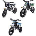 MotoTec Warrior 52cc 2-Stroke Kids 13+ Gas Dirt Bike Max Rider Weight 150 lbs