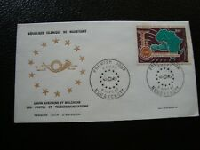 MAURITANIE - enveloppe (tachée) 1er jour 4/3/1967 (B18)