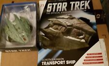 Star Trek Eaglemoss Issue 71 Klingon Transport & magazine