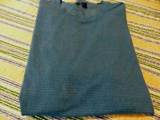 Mens Small Heather Blue Lululemon T-Shirt with Loop at Center Front Hem in Euc