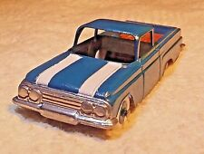 Vintage 1960 Tootsietoy Chevy El Camino with Wood Bed
