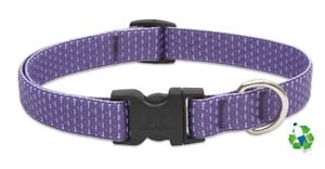 "NEW Lilac Purple Dog Collar or Leash 3/4"" or 1"" by Lupine Eco (Recycled)"