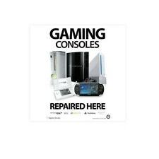 Phone / Computer Shop Repair Poster A3 (SMALL) - Gaming Consoles Repaired Here (