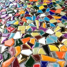 rainbow mixed colors baroque ceramic mosaic backsplash tiles bathroom shower