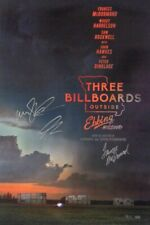 AUTOGRAPHED - 'Three Billboards Outside Ebbing, MO' (Cast Signed) Poster + COA