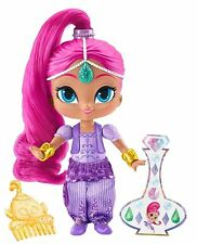 Shimmer and Shine - Shimmer 6 Inch Doll With Hair Comb