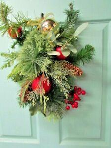 Golden Fleece Pine Spruce Swag Christmas Sheep Brooks Bros Wreath