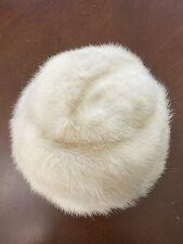 New listing Mink Pillbox Hat