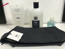 """mr.hair&body gel"" ,""mr.shower bag"" ,""mr.facial soap"" & ""hygienic hand gel"""