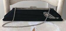 INGE CHRISTOPHER Silk Taffeta Clutch Evening Bag Beaded Handbag EUC! MSRP$135