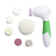 7 In 1 Waterproof Electric Facial Cleansing Brush Face Massage