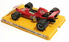 MODELLINO AUTO POLITOYS - FX2 MARCH FORD 721 - F.1 - R. PETERSON - SCALA 1:25