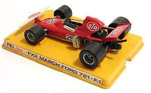 MODELLINO AUTO POLITOYS - FX2 MARCH FORD 721 - F.1 - R. PETERSON - SCALA 1:25