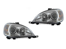 FACELIFT AMG LOOK DEPO CHROME PROJECTOR 98-01 MERCEDES W163 M/ML CLASS HEADLIGHT