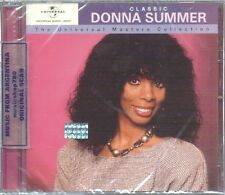 DONNA SUMMER CLASSIC THE UNIVERSAL MASTERS COLLECTION SEALED CD NEW BEST HITS