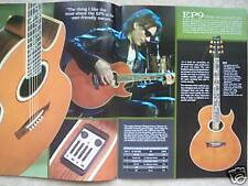 RARE 2008 IBANEZ ACOUSTIC GUITAR CATALOG! exotic steve vai talman mandolin nylon