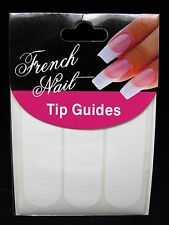 French Manicure Tip Guide Perpect Line Strip (round)