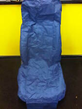 CAR & VAN SINGLE SEAT COVER PROTECTOR HEAVY DUTY WATER RESISTANT NYLON BLUE