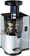 Omega VSJ843QS Factory Certified Remanufactured Low Speed Vertical Juicer Silver