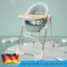 Kinderstuhl Hochstuhl Babystuhl Verstellbar Klappbar Liegefunktion Doppeltablett