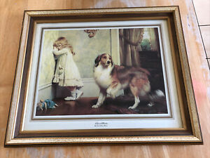 A Special Pleader By Charles Burton Barber painting Framed Print