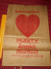 HEARTLAND PURITY Angelo's Supermarket Grocery Store Bag Fresh Choice Fish Market