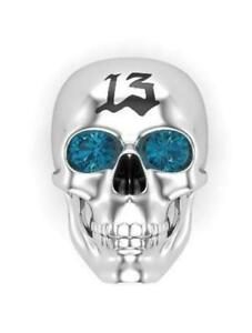 Solid 925 Sterling Silver Unique Antique Vintage Skull Bikers Anniversary Ring