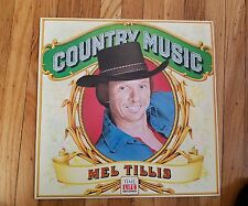 TIME LIFE COUNTRY MUSIC MEL TILLIS Near Mint VINYL LP Near Mint Record cover