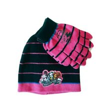 Set Monster High Gorro y Guantes Talla Unica Original