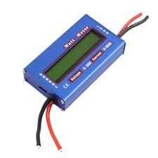 Digital LCD DC60V 100A Balance Voltage Battery Power Analyzer Watt Meter Checker