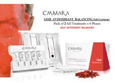 CASMARA 2 GOJI ANTIOXIDANT Treatments x 6 phases BALANCING-peel off masks