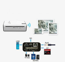 3G WIFI Router Wireless Card Reader TF/M2/SD/MS/CF  Power Bank Free Shipping