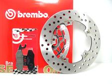 68B40777 DISCO FRENO BREMBO POSTERIORE + PASTIGLIE GILERA NEXUS 250 ANNO 2006