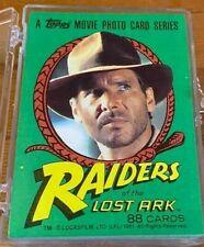 1981 Topps RAIDERS OF THE LOST ARK Full Wax Box 36 Unopened Packs NM//MT