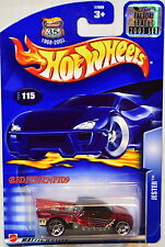 Hot Wheels 2003 Jester #115 Red Factory Sealed