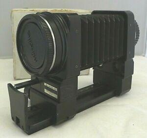 Minolta M - Auto - B Bellows Focusing Rail with MI Adapter - Vintage