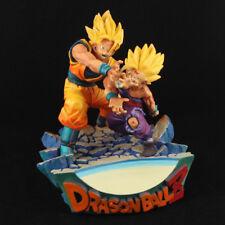 Dragon Ball Classic Scene Father And Son Kamehameha Figure Goku Gohan figure Toy