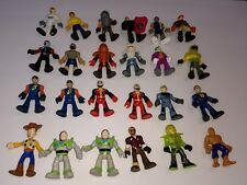 Imaginext Fisher Price Mixed Lot of 24 Figures w/ Toy Story, Joker & More