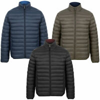 Tokyo Laundry Puffer Jacket Mens Quilted Puffa Coat Funnel Neck Padded Winter