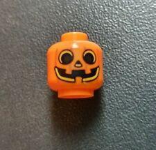 LEGO® Halloween Minifiguren Kopf orange Zombie
