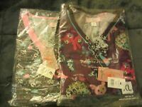 KOI Kathy Peterson Scrubs Tops for Halloween size 3 x and a X L New with tag