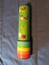 Vintage Peanuts Characters Kaleidoscope That Shows Colorful Geometric Designs