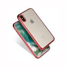 Fundas y carcasas Para iPhone X color principal rojo de silicona/goma para teléfonos móviles y PDAs