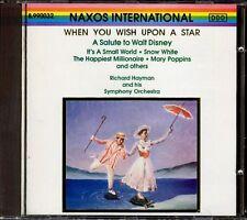 RICHARD HAYMAN - A Salute To Walt Disney - German CD Naxos International 1990