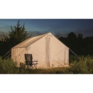 New Guide Gear 10'x12' Canvas Wall Tent, Frame Not Included