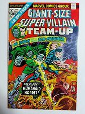 Giant-Size Super-Villain Team-Up #2 (1975 Marvel) Dr. Doom Sub-Mariner 🔥⏫🔑
