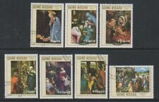 Guinea Bissau - 1989 Christmas (Paintings) set - F/U - SG 1182/8 (c)
